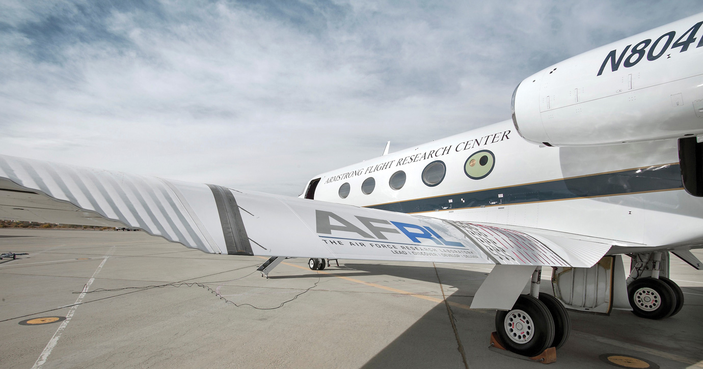 FLEXSYS TECHNOLOGY BRIDGES THE GAP IN WING DESIGN FOR A SEAMLESS ADAPTING CONTROL SURFACE THAT REDUCES DRAG, SAVES FUEL AND QUIETS AIRFRAME NOISE IN LONG-RANGE AIRCRAFT