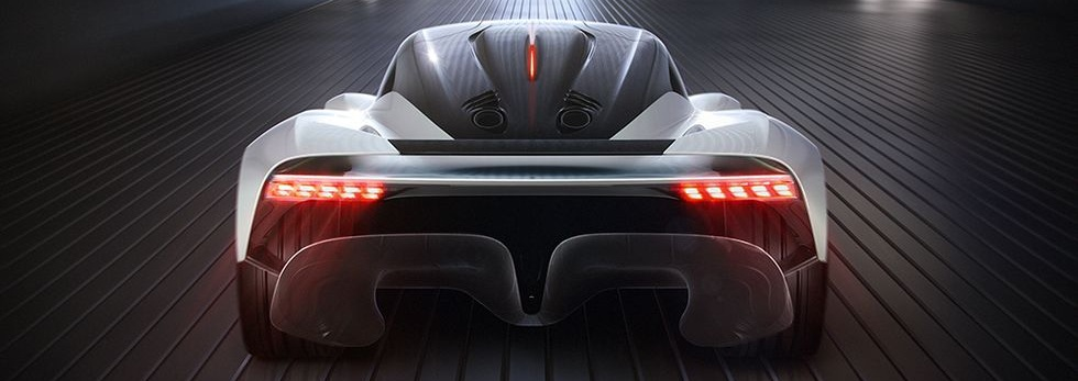 Aston Martin incorporates a FlexFoil morphing wing on their AM-RB 003 Hypercar.