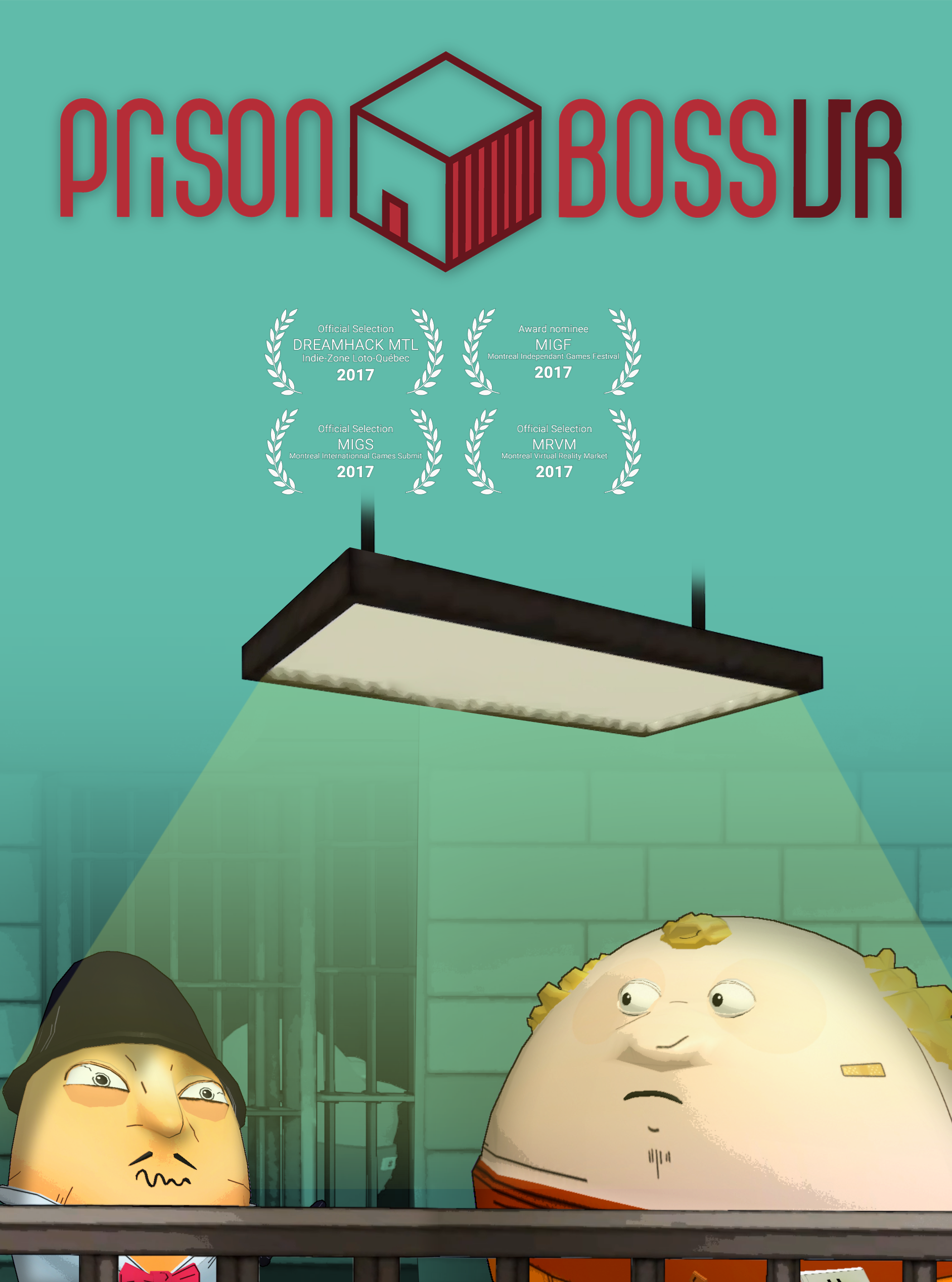 [...]this is a VR game we'd happily return to as a reward for good behavior. -UploadVR - Prison Boss VR is a crafting and trading game using room-scale to turn your VR space into a jail cell! Craft cigarettes, alcohol and cookies for other inmates! Customize your cell as your reputation grows! Earn cash until you can't store it anymore and become the Prison Boss!