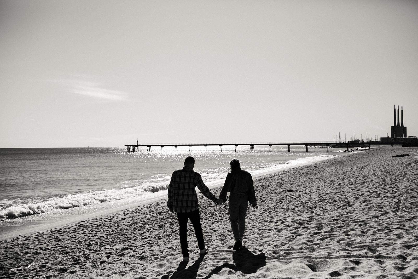 El pont del petroli, Badalona.