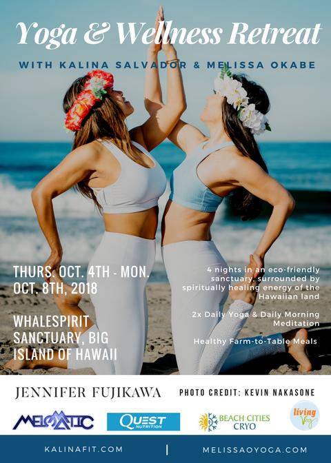 Melissa & Kalina's Hawaii Yoga Retreat 2018