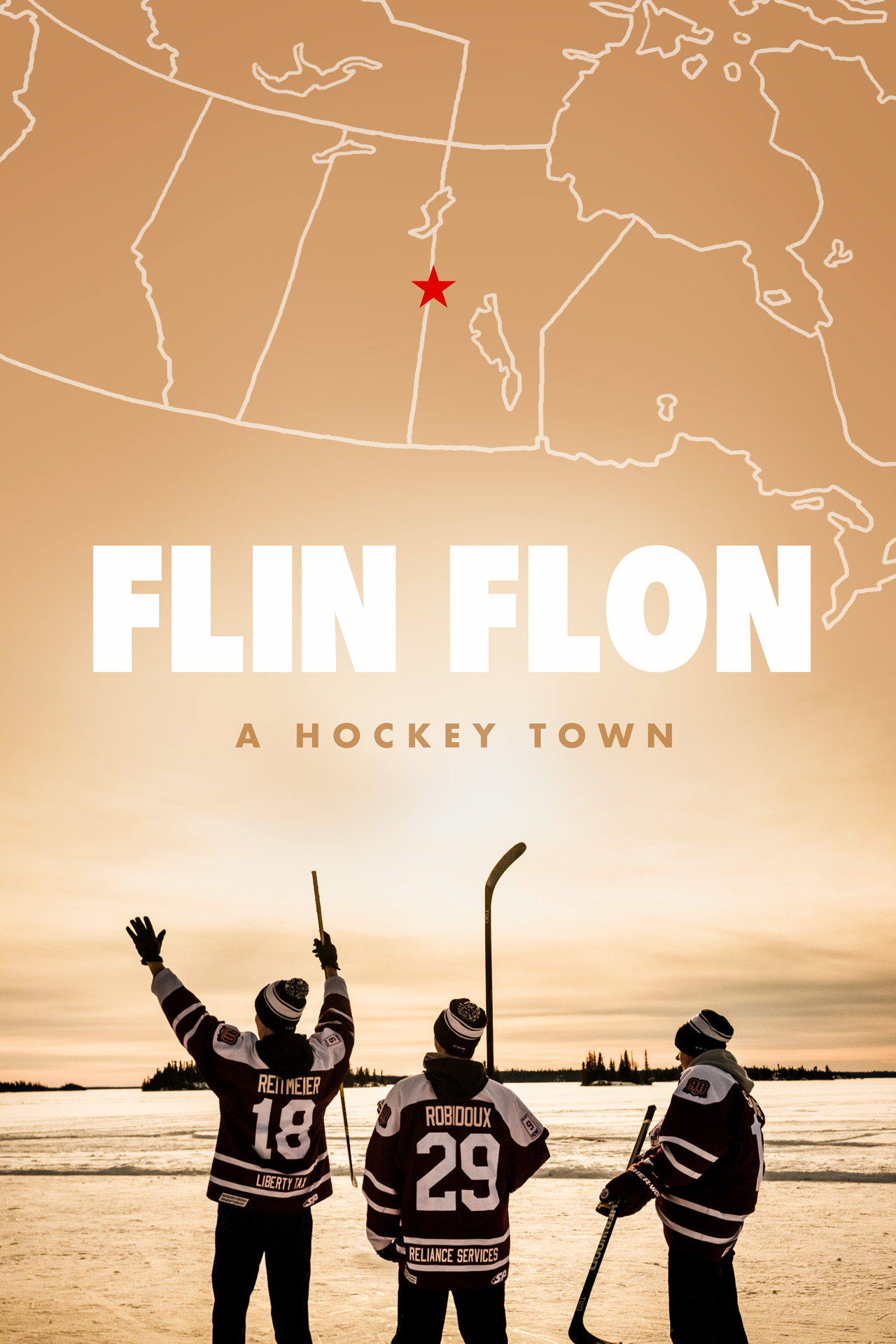 - Flin Flon, Manitoba is located nearly 1000 kilometers north of the US border in Central Canada. The small mining community is also the only city in the world to be named after a science fiction character: Josiah Flintabbatey Flonatin from 'The Sunless City.'Flin Flon: A Hockey Town explores the town's eccentric obsession with its legendary junior hockey team, The Flin Flon Bombers and how the team and the community thrive off one another. The Bombers organization dates back to 1927 and many legendary NHL players were born and played in Flin Flon including Bobby Clarke, Reggie Leach, and Gerry Hart.Director: Dustin CohenProducer: Jenn SharpeDirectors of Photography: Soren Nielsen, Christine NgEditor: Kathy GattoComposer: Jim EnglishColorist: Kath Raisch @ Company 3Sound Designer: Raphael AjuelosFor inquiries, please contactDustin Cohendustin@cohen.net+1-646-465-4116