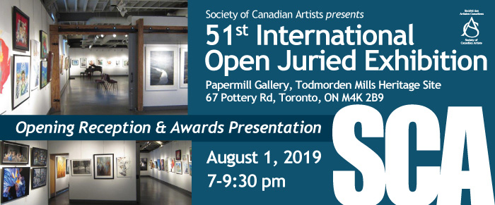 Two of my works will be included in this Exhibition. On until August 23, 2019