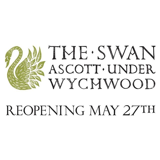 Our sister pub @swan_inn_ascott reopens this Bank Holiday Monday after an extensive refurb so be sure to pop in if you're passing through the village! 🚗 . . . #sisterpub #pubwithrooms #theswaninnascott #reopening #bankholidaymonday #countrycreatures #cotswoldpubs #thechequerschurchill