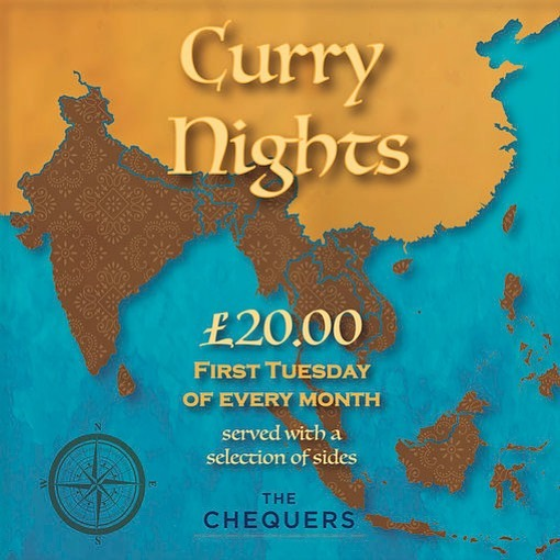 Tonight's curry night is Malaysian themed and promises to be delicious! Still tables available so give us a call to book in - 01608659393. . . . #currynight #malaysianthemed #tuesdaynight #cotswoldpub #joinus #thechequerschurchill #countrycreatures