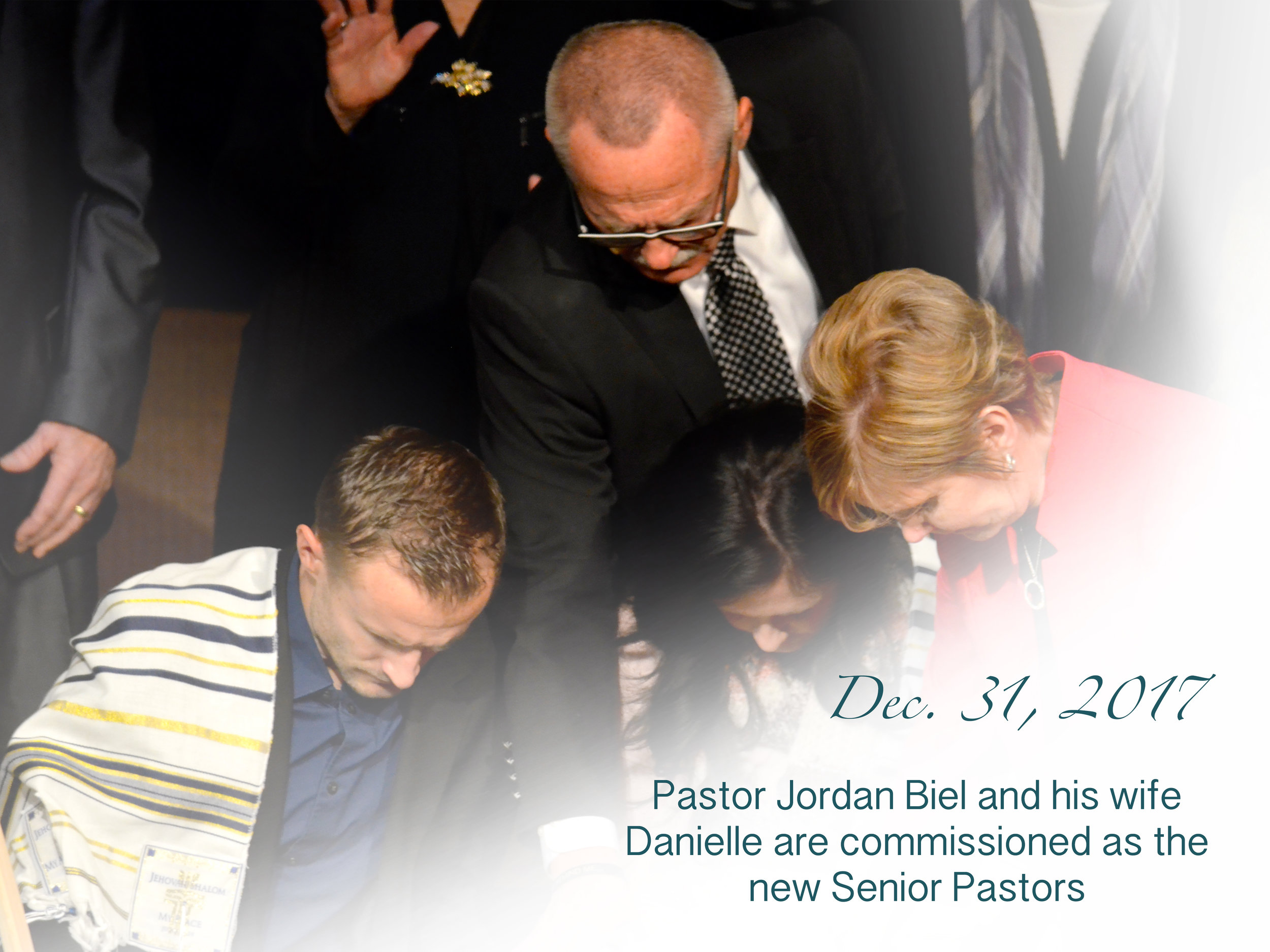 Jordan Biel Commissioned as Pastor