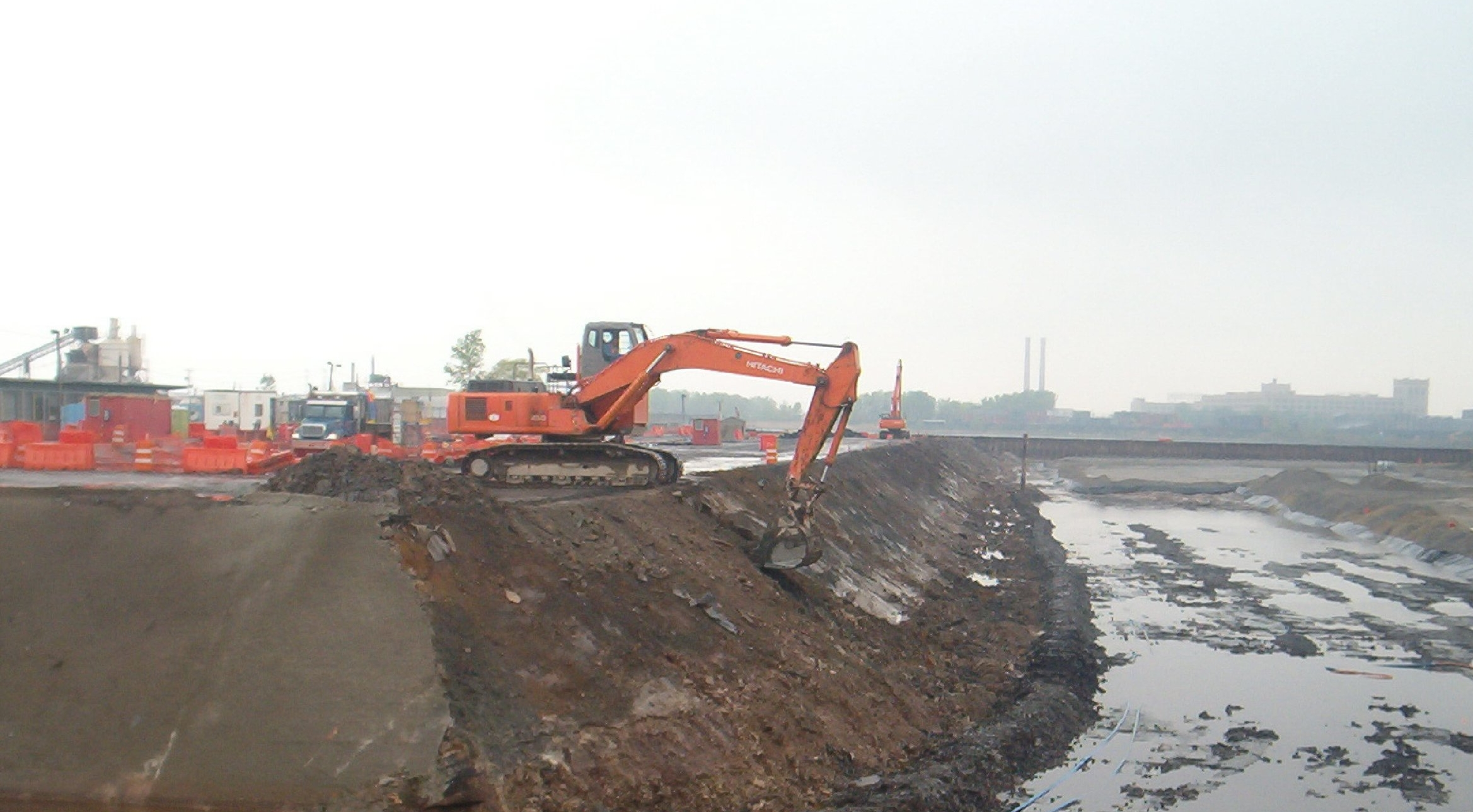 Excavation of Honeywell site (Jersey City, NJ),  ICO v. Honeywell