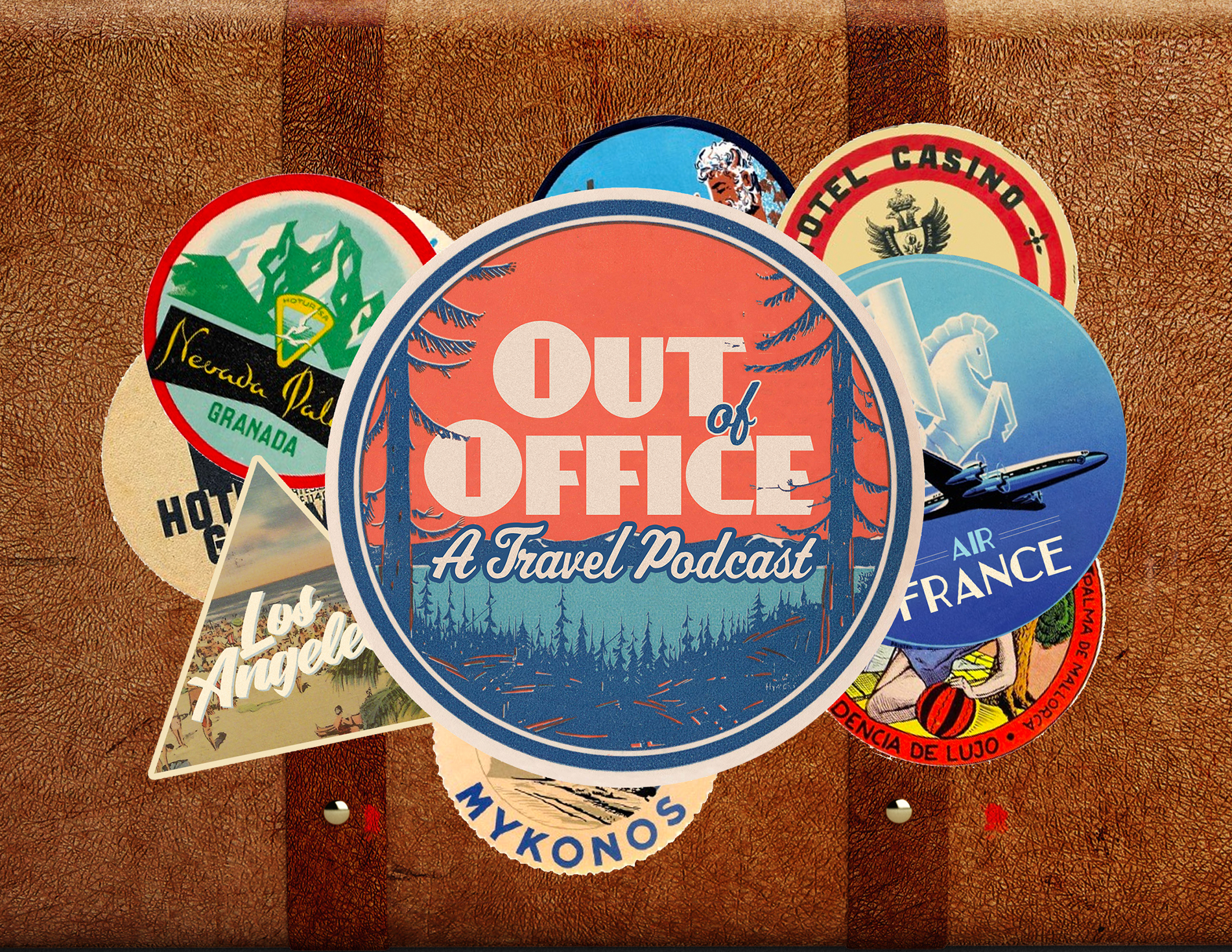 """""""Out Of Office""""  Logo Design   Role:   Graphic Designer"""