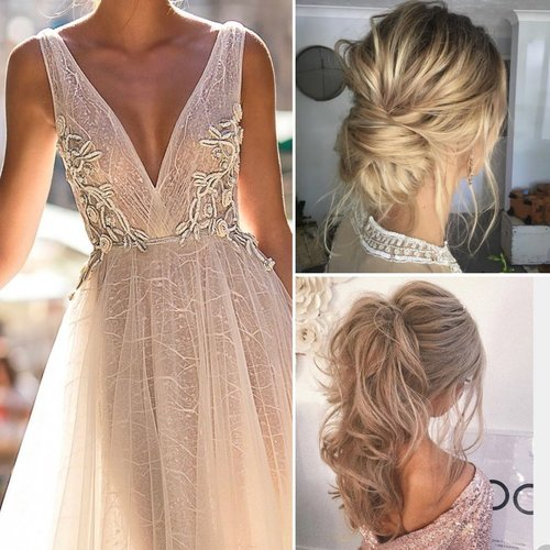 Guide To Wedding Hairstyles That Complement Your Gown