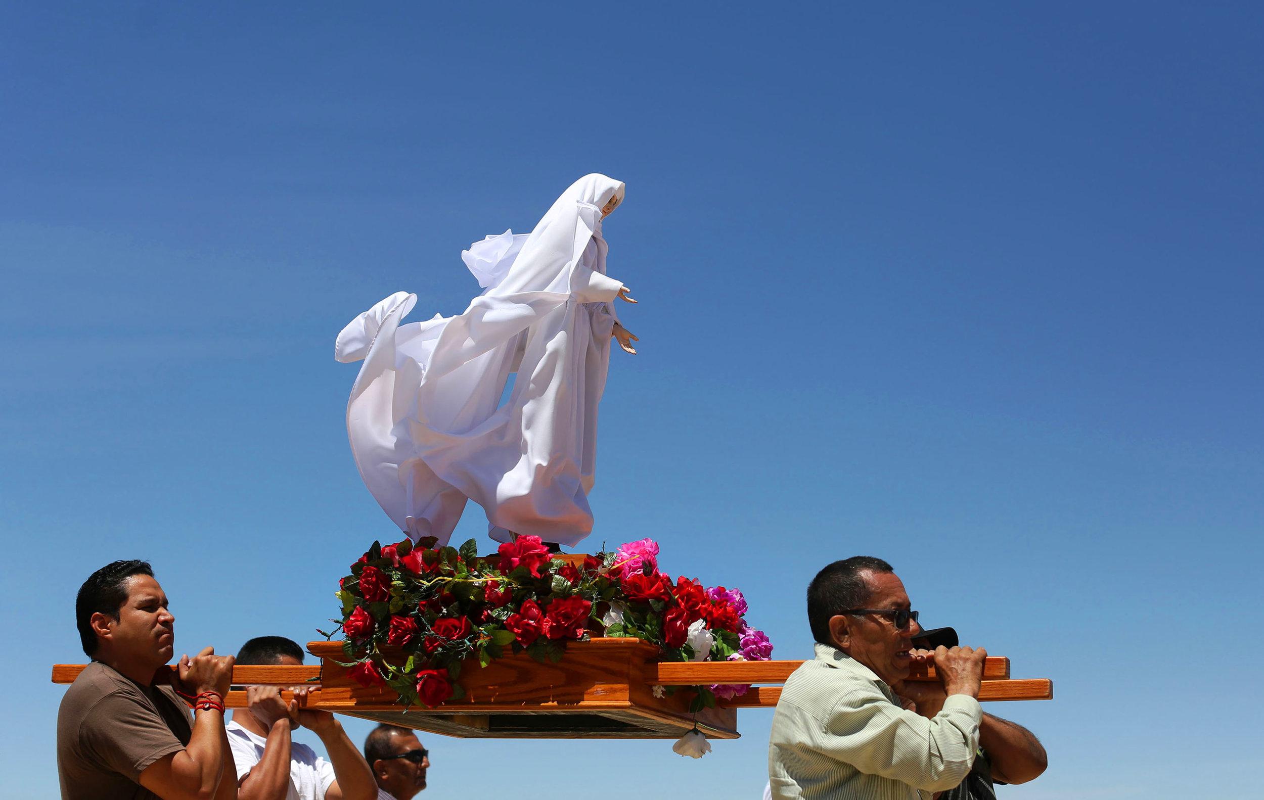 Virgen del Desierto, Mojave, CA