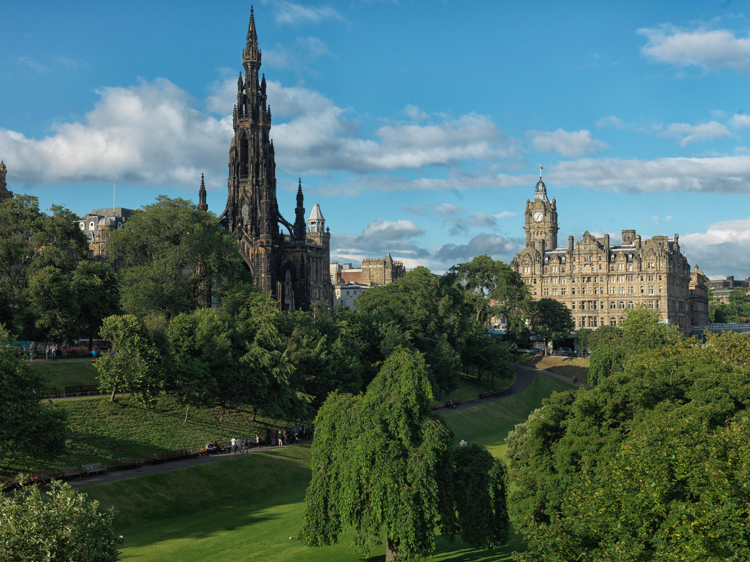 The Balmoral, Edinburgh