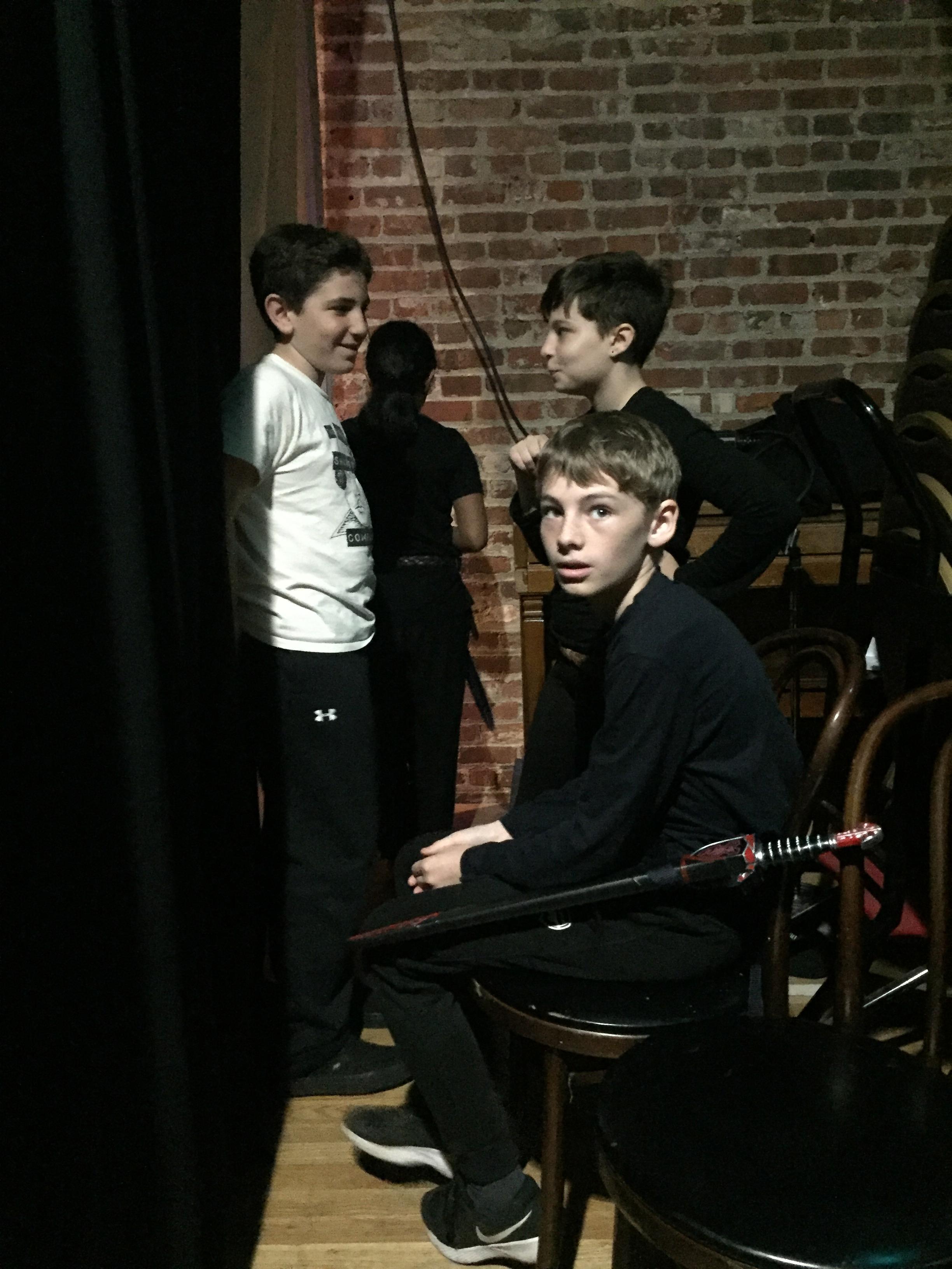 Josh, Josie, Louis backstage.jpg