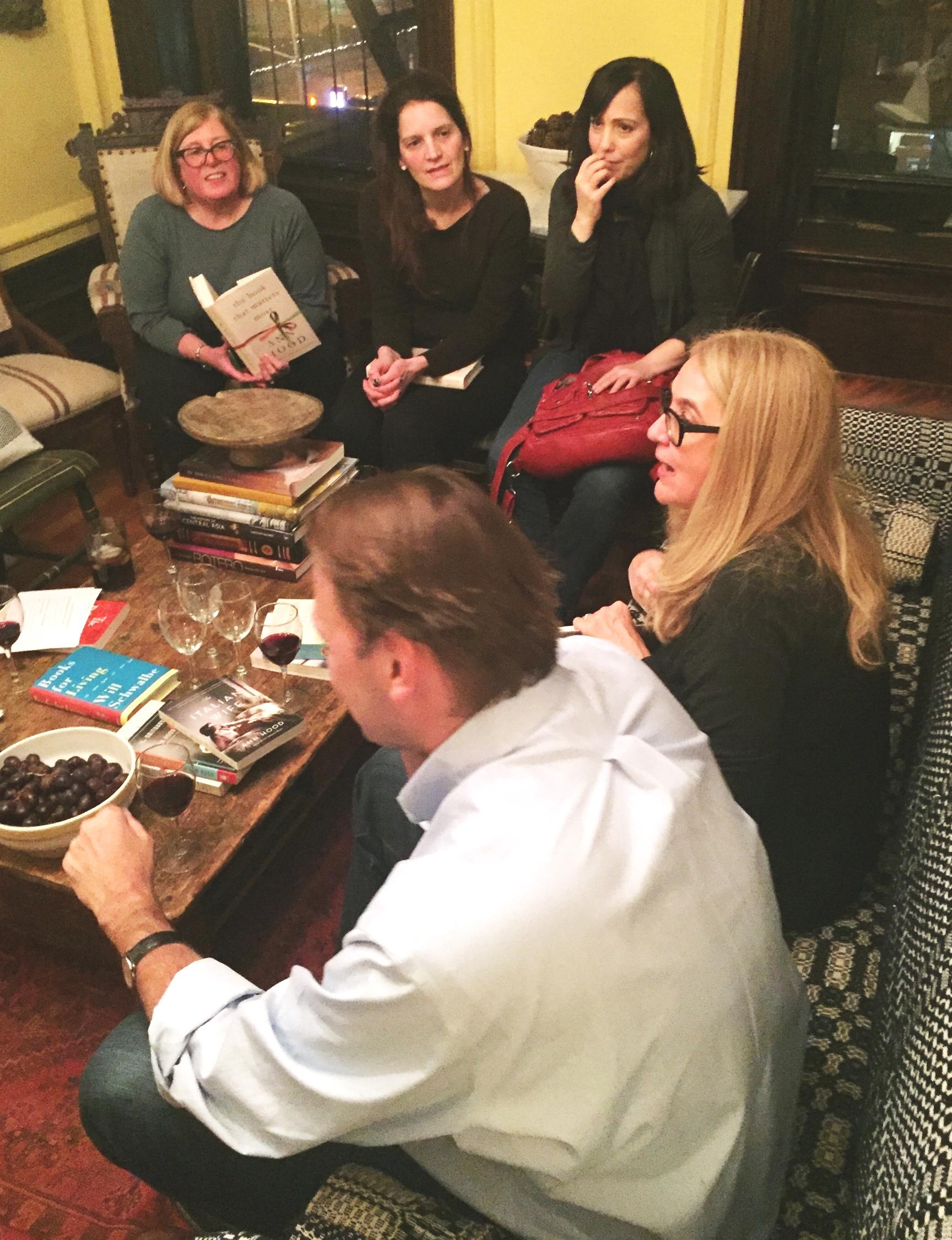 Novelist Ann Hood discusses THE BOOK THAT MATTERS MOST