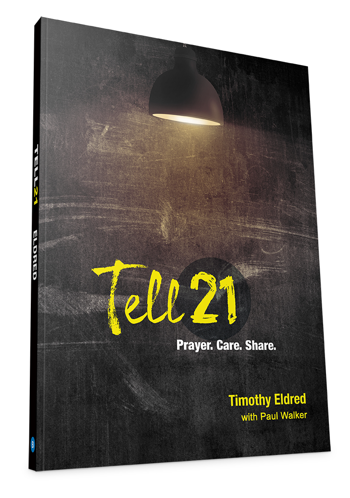 Level 3 - Tell21 takes the fear out of telling others about Jesus. It makes sharing your faith simply about sharing the story of how Christ has become the hero of your heart and the Lord of your life. This three-week experience will give you confidence in your Christian life. You'll discover your place in God's plot, and see your significance in his bigger plan.