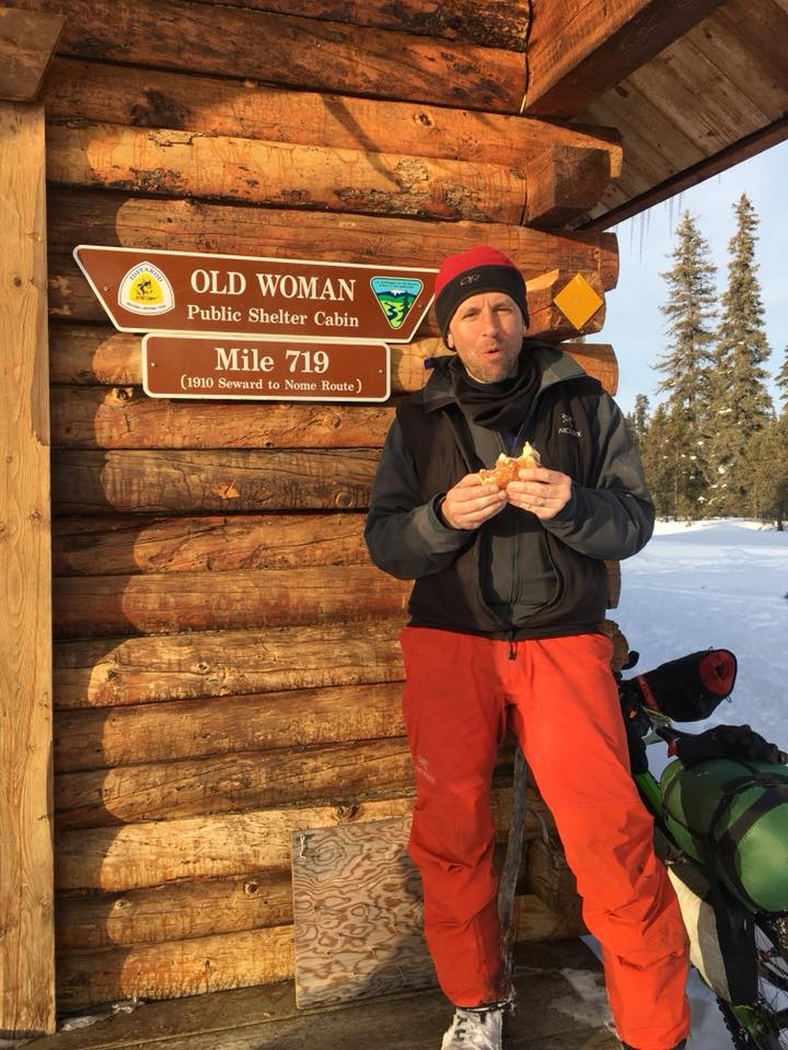 Phil Hofstetter at Old Woman cabin. Image  Paul Ivanoff III