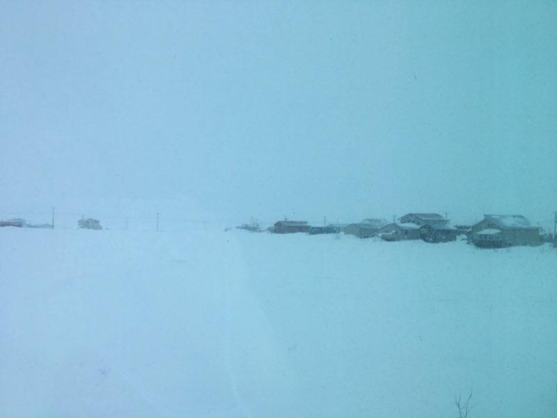 Nora Nagaruk sent this image from Nome this morning.