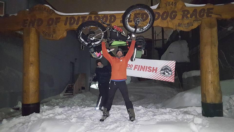 Craig Bullen finish Nome