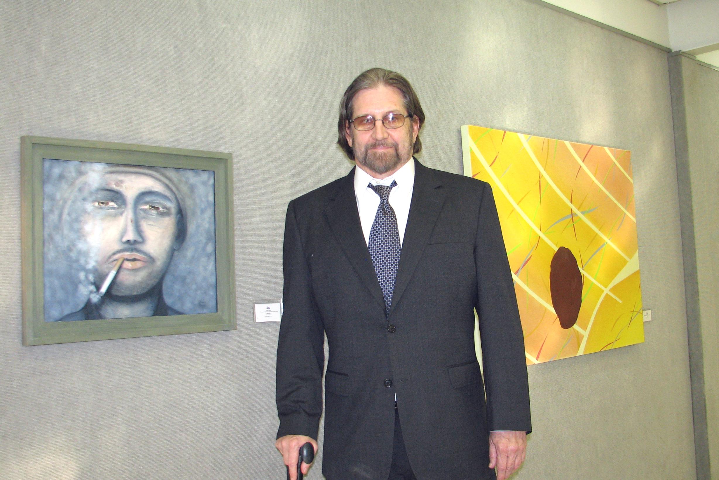Larry with Art.JPG