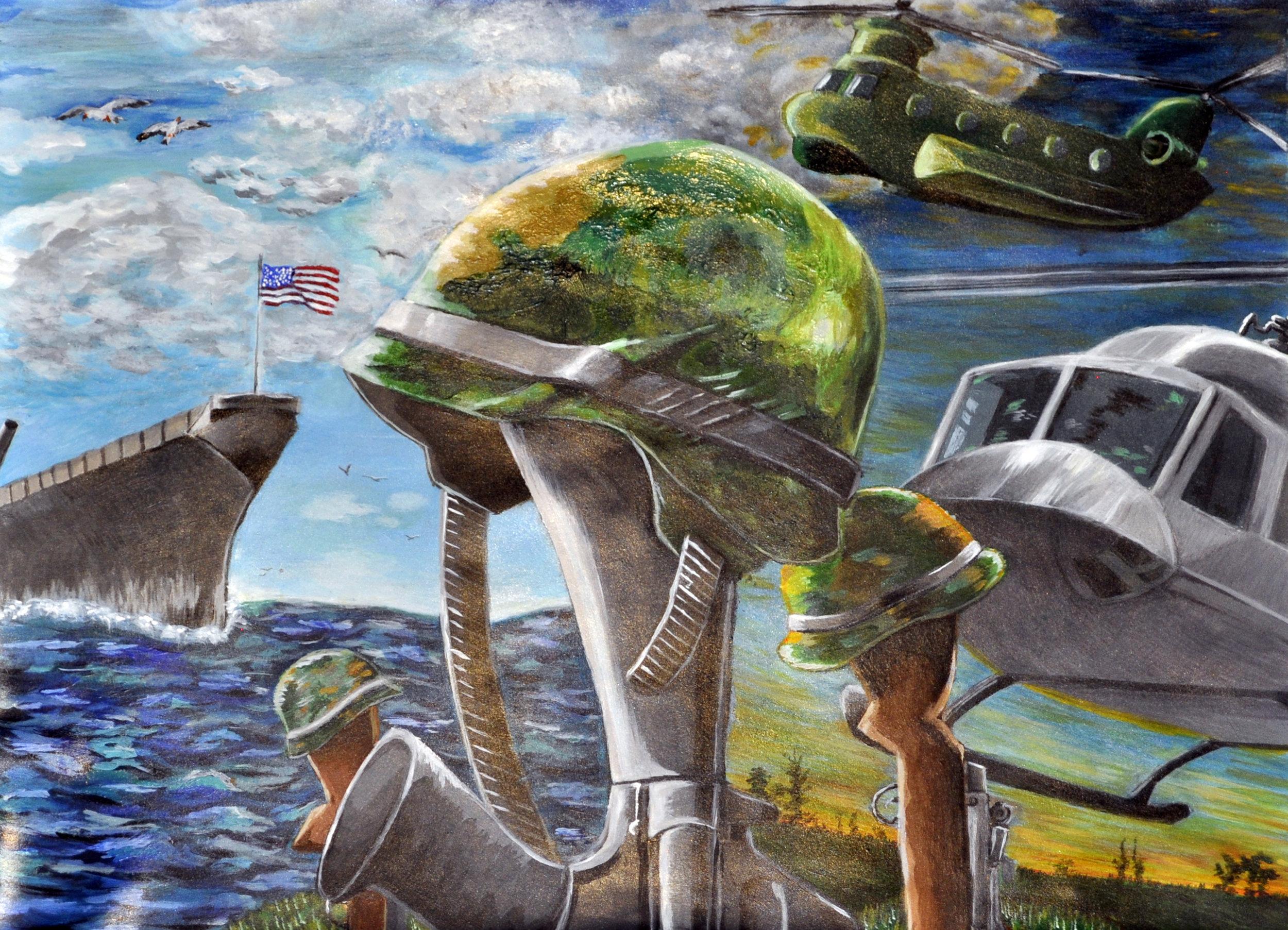 Art by High School student Lee Andrews