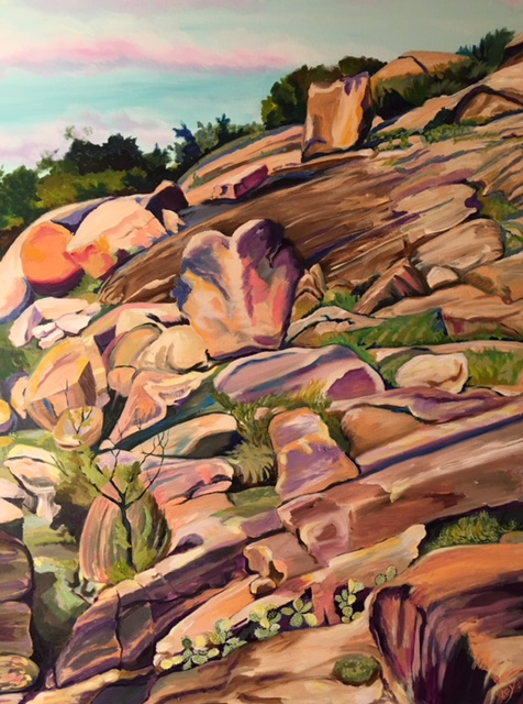 Enchanted Rock by Sharon Loy Anderson