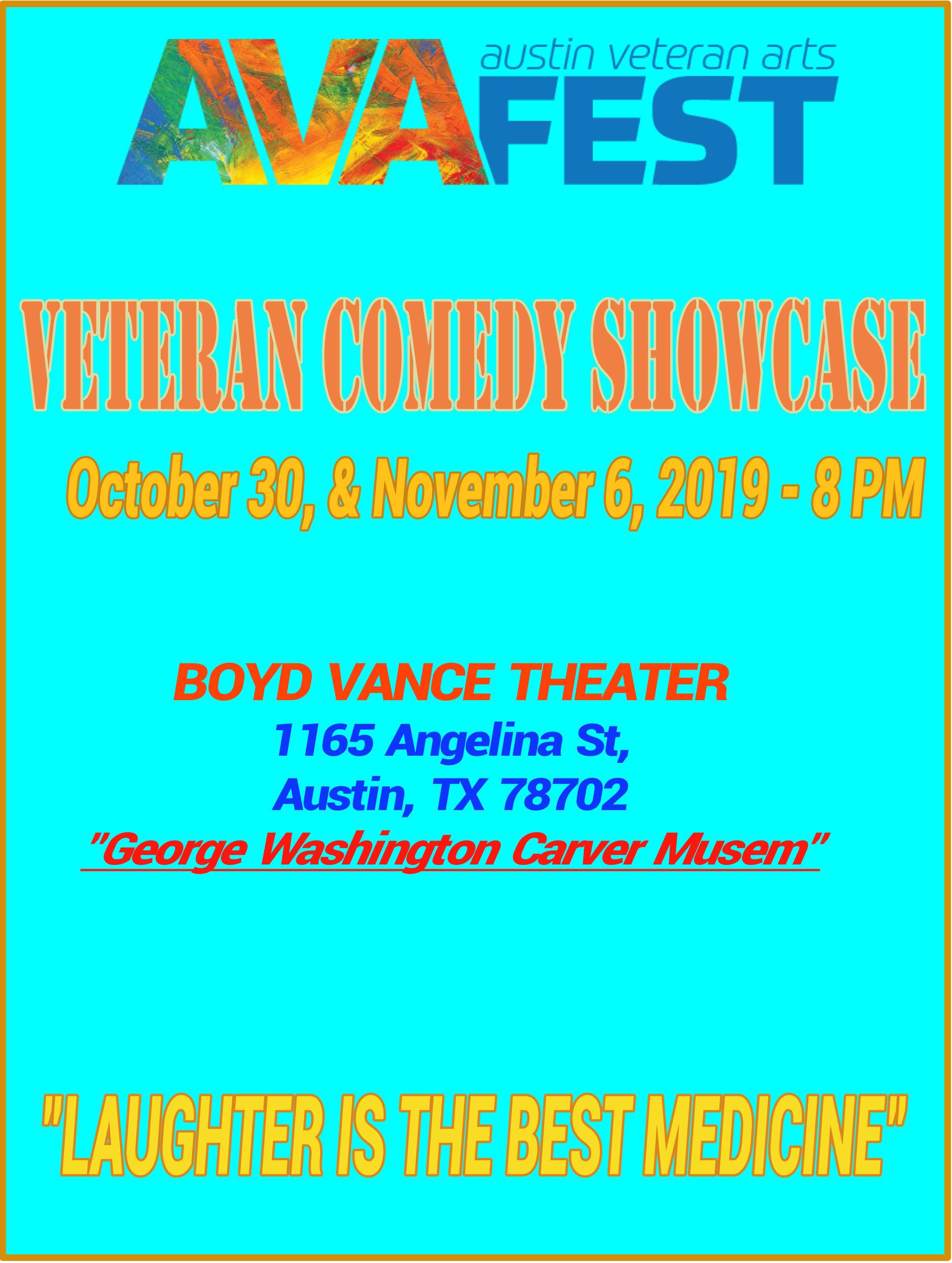 AVAFEST Veteran Comedy Showcase.jpeg
