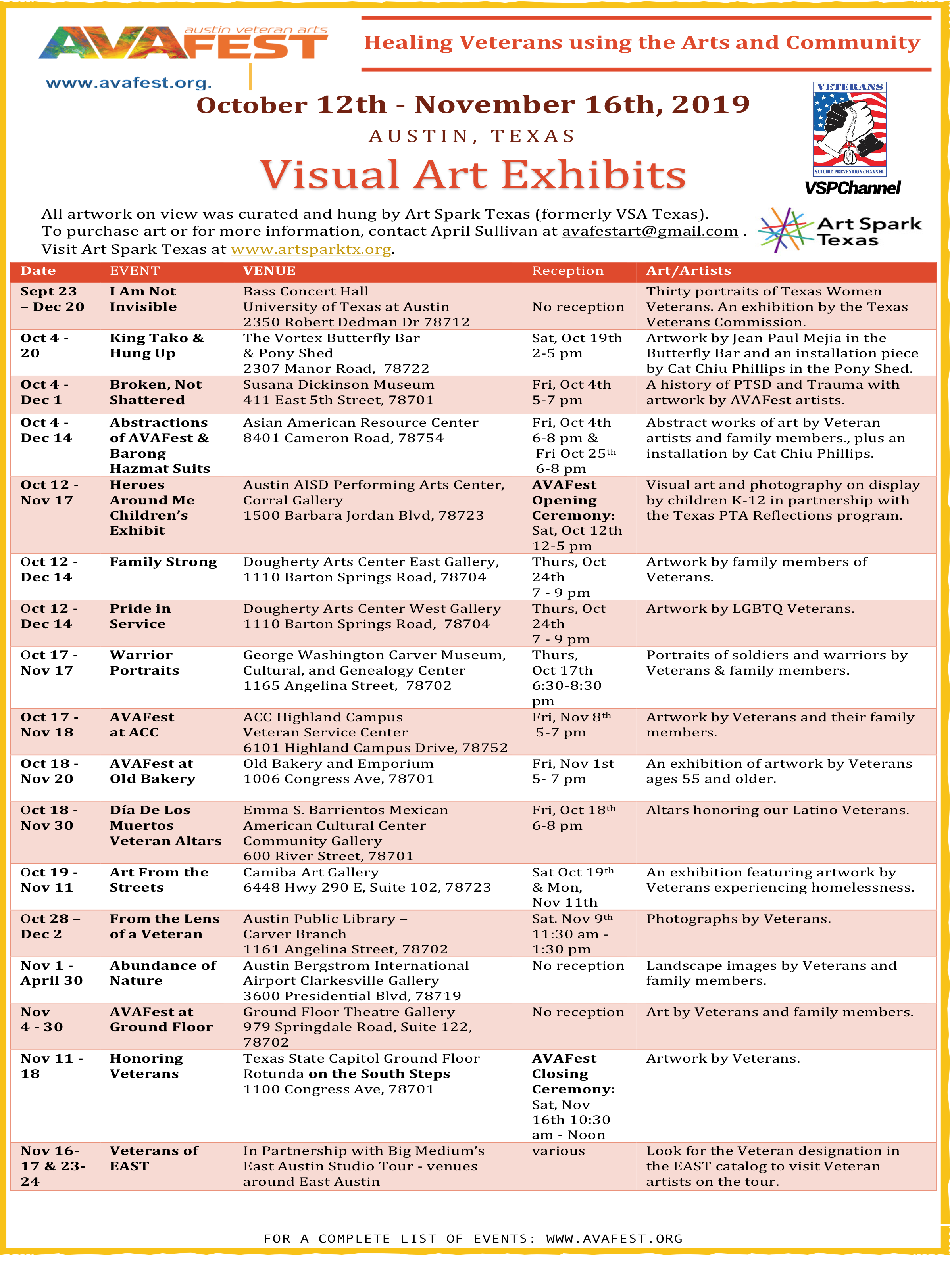 Visual Exhibits List AVAFEST 2019.png