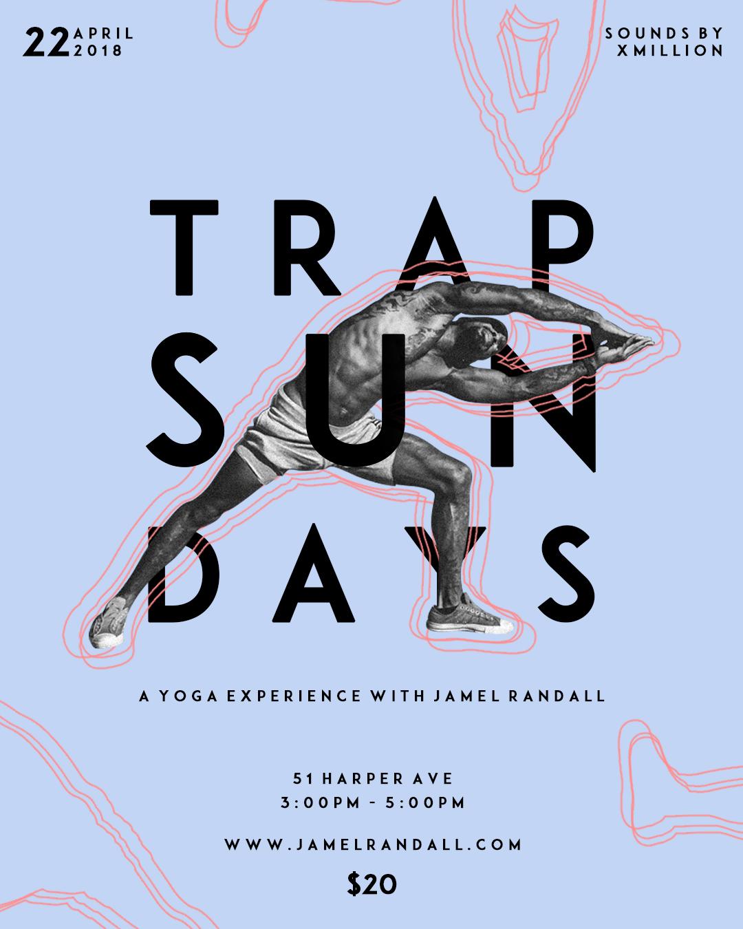 Jamel Randall The Trap Studio Trap Sundays Detroit