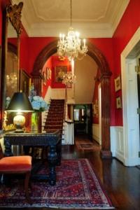 Lobby of the historic Arts Club of Washington