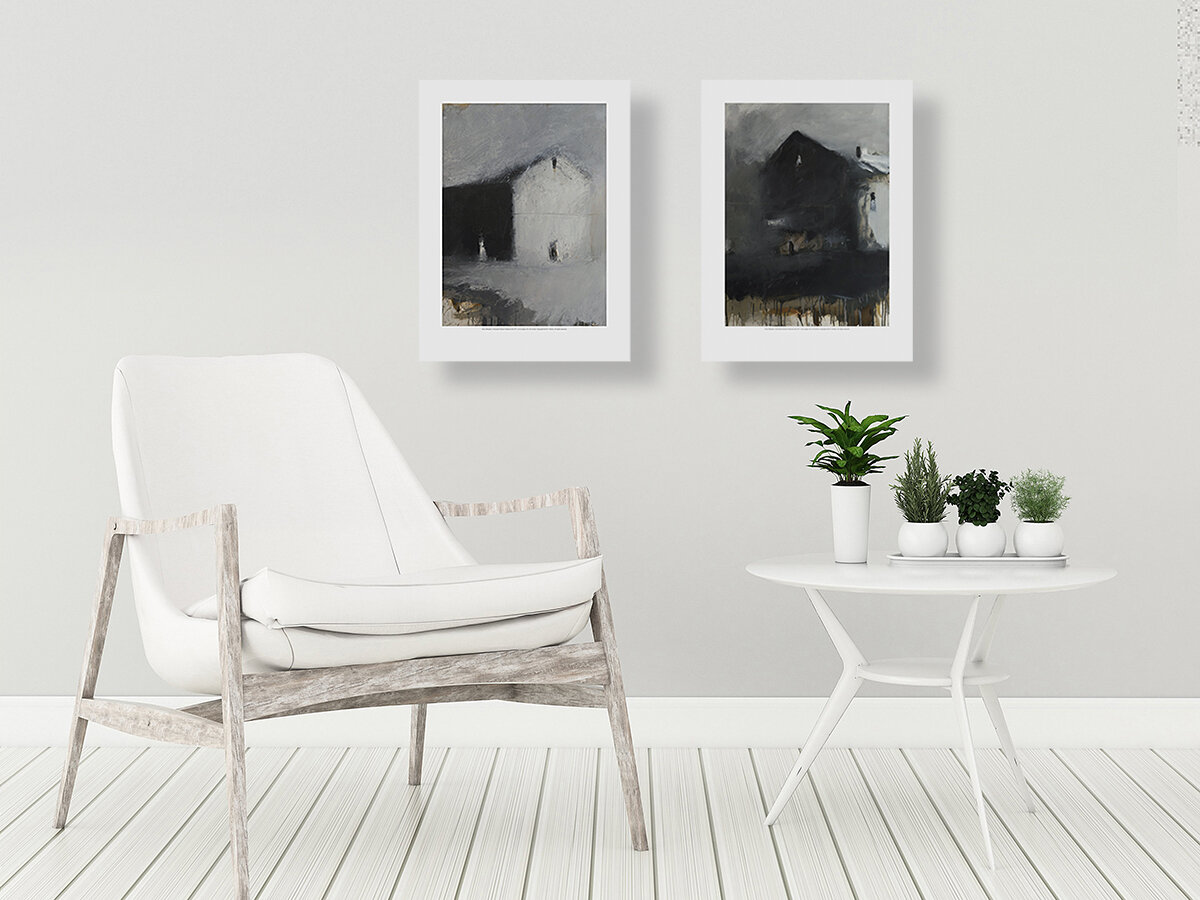 Stunning Interiors Showcasing Art - Let us help you complement your interiors