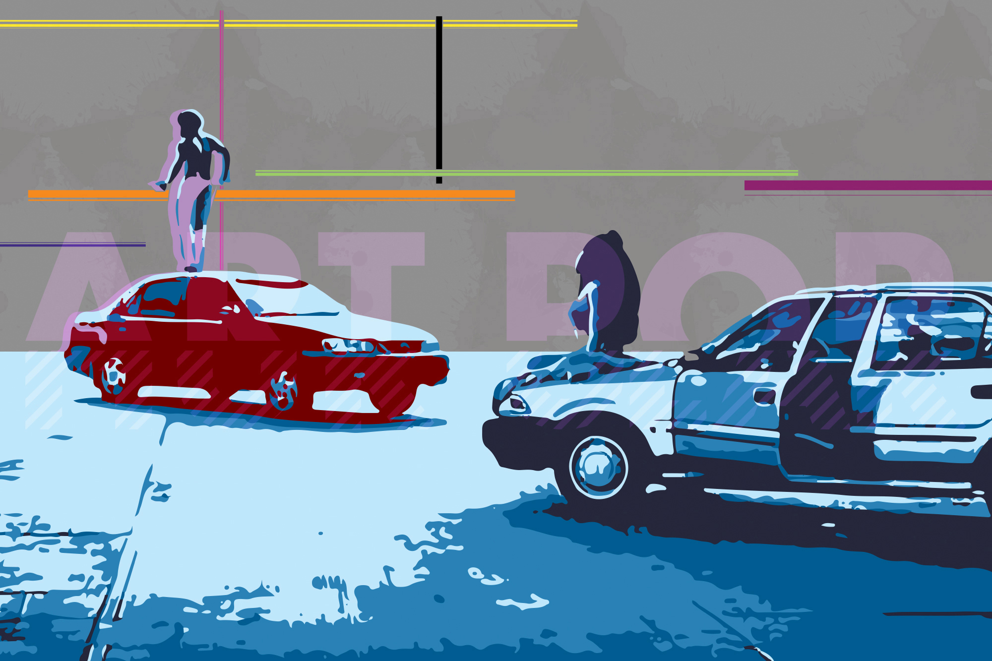 This Is America - Inspired by Childish Gambino's song and video.Available via:Amazon | DeviantArt |Redbubble|Society6