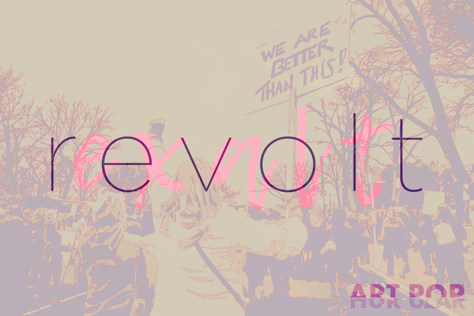 Revolt / Exalt - If I'm being completely honest, this piece is actually inspired by the