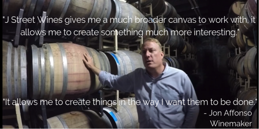 Watch the full interview with our winemaker, Jon Affonso,  here