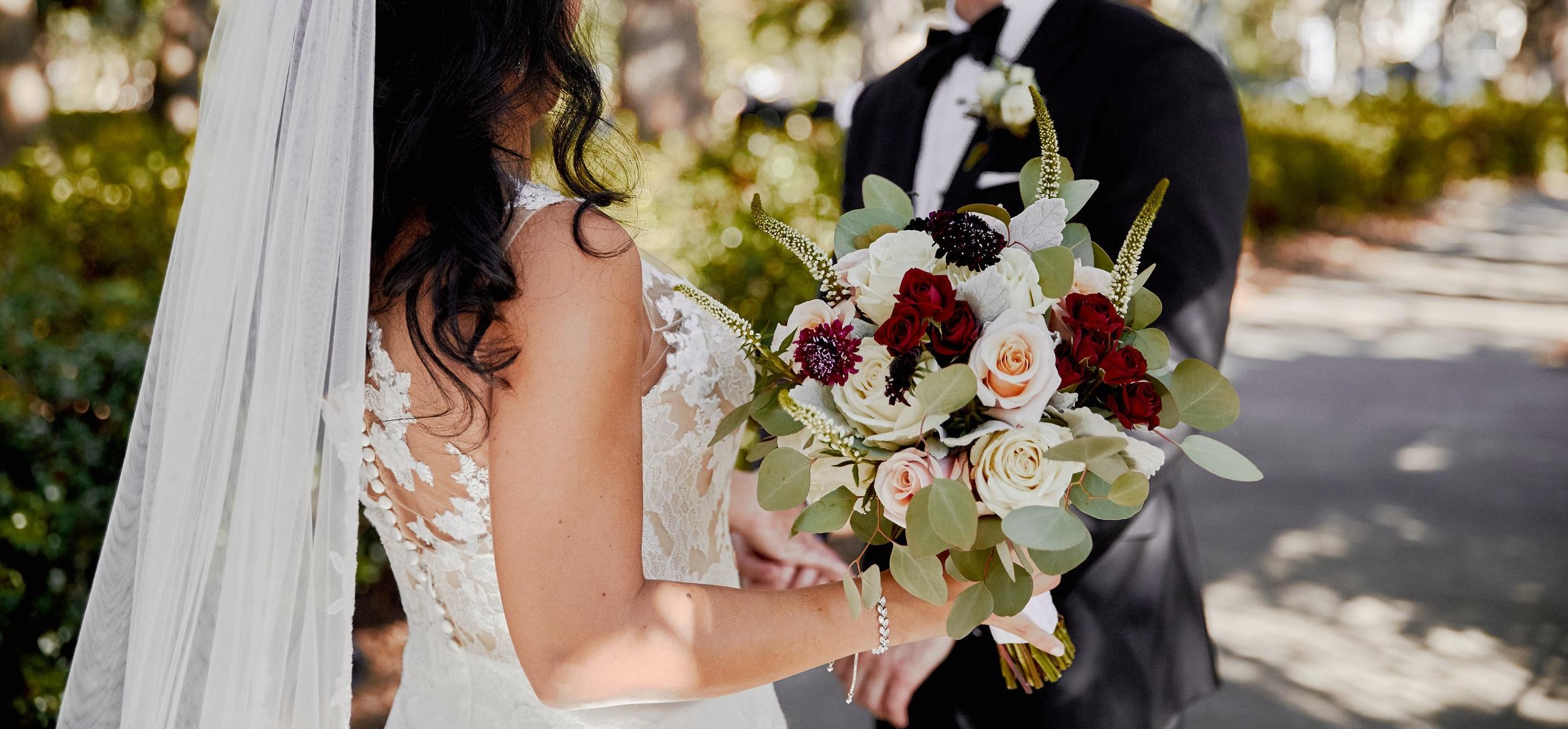 Romance + Geometric Wedding -