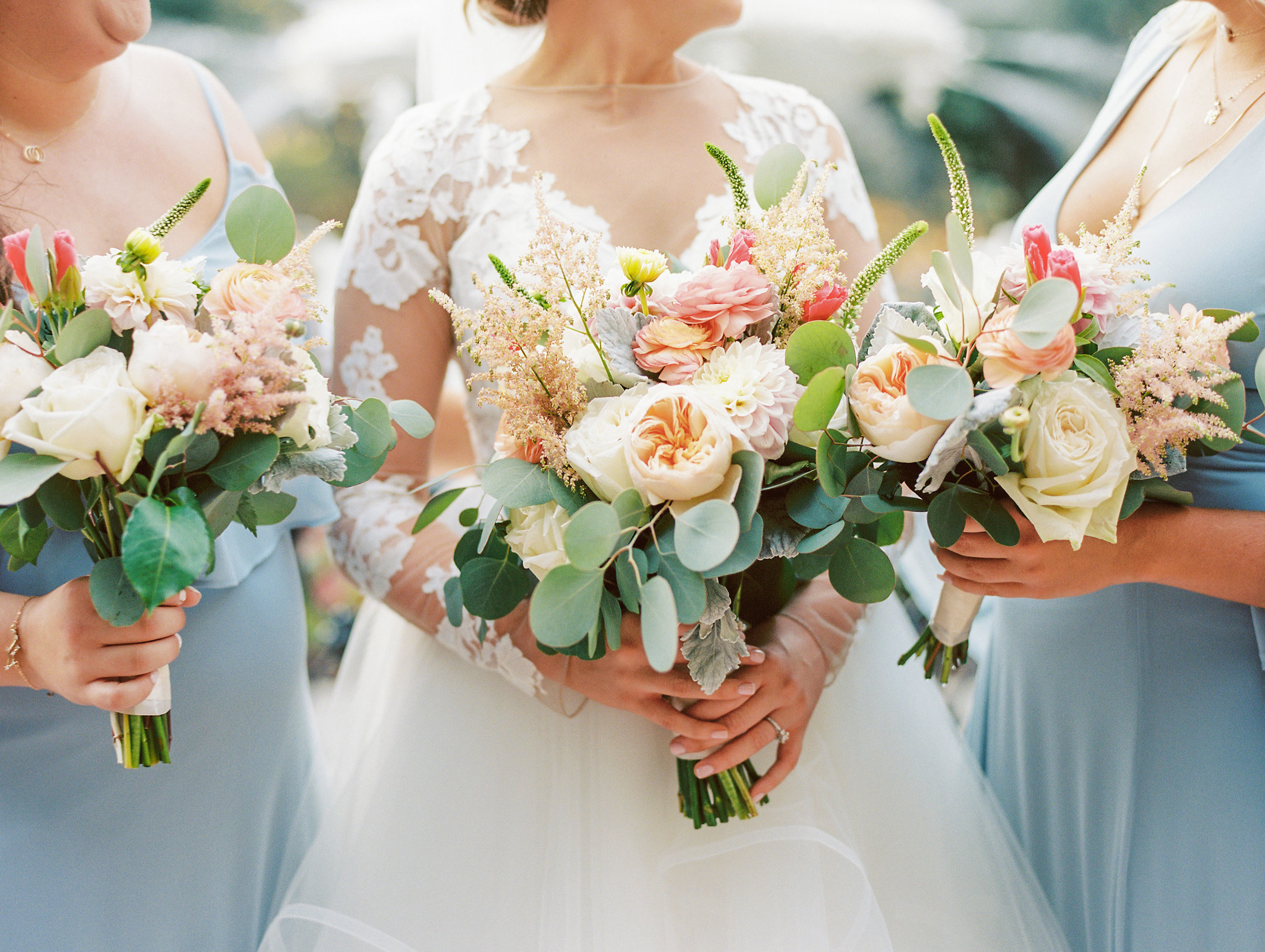 Colorful Oyster Wedding -