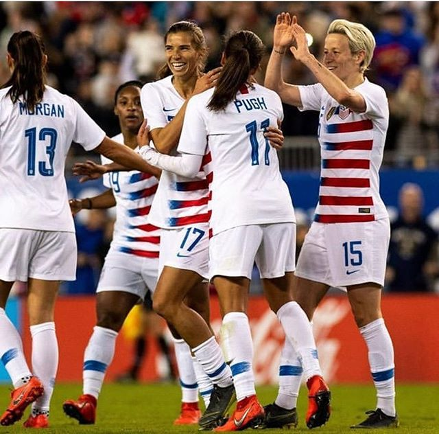Good luck to the US Women's Soccer team in the FIFA World Cup - they exemplify hard work, perseverance, grit, resilience, compassion, sportsmanship and standing up for what you believe in! @usawsoccer #upstander #uswomenssoccer