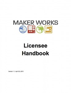 Additional rights and responsibilities for people who license space at Maker Works.  (In most cases, licensees will also need to consult the All-Hours Handbook.)