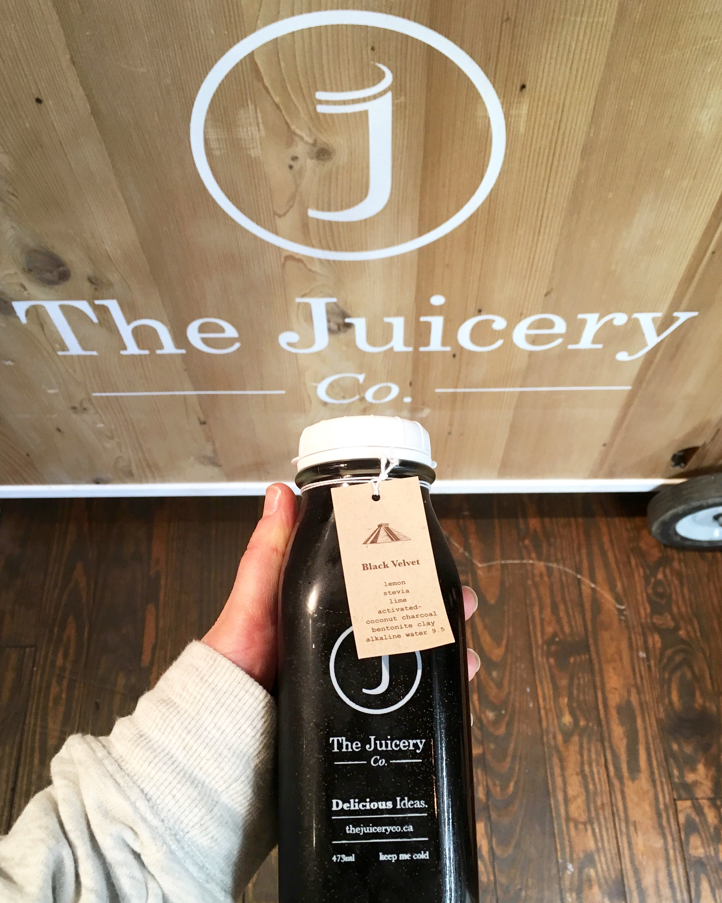 the juicery co - Though their speciality is cold-pressed, handmade, organic juice they have been offering more and more food options since the opening of their new location on Main Street. Look for their homemade salad bowls, acai bowls, smoothies, and raw treats!Check out their extravagant latte menu at Main Street, their rose latte is insane. Get it. You'll thank me later.They are also the only juicery company in Vancouver that uses produce from their very own organic farm in Pemberton! I think that's as local and sustainable as you can get!Some of my favourite juices include Black Velvet (featured), Earth Beauty, and the Greenist!They also have locations in Edgemont village and lower Lonsdale.Check them out herePhoto: Black Velvet at Lonsdale.