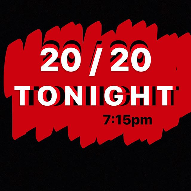 What's up 20/20 YOUTH!! We're on tonight for an awesome message and a great time in fellowship! Come on out tonight at 7:15pm and don't forget to bring a friend!