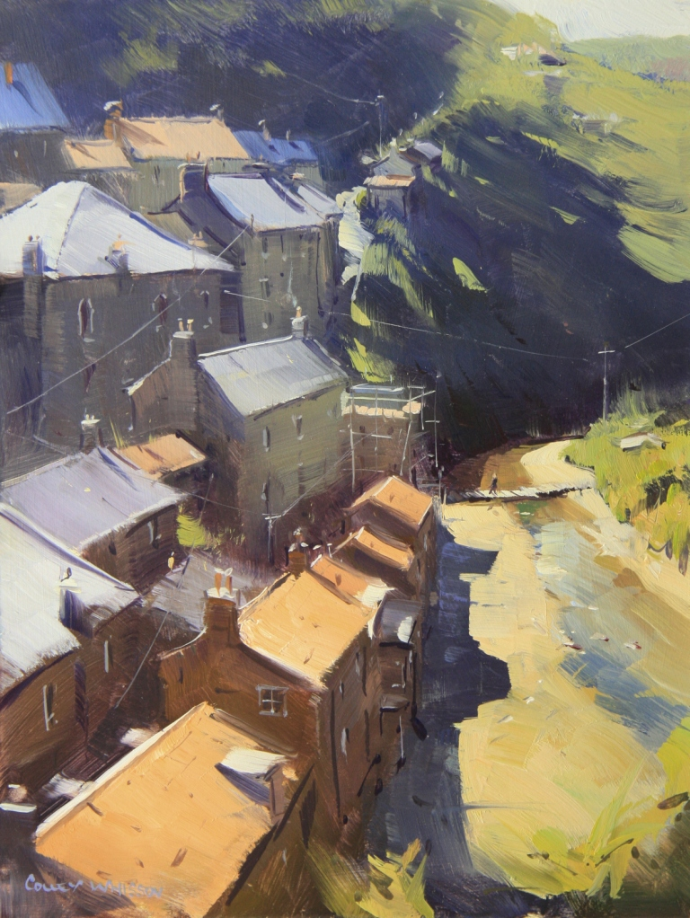 English Rooftop Staithes