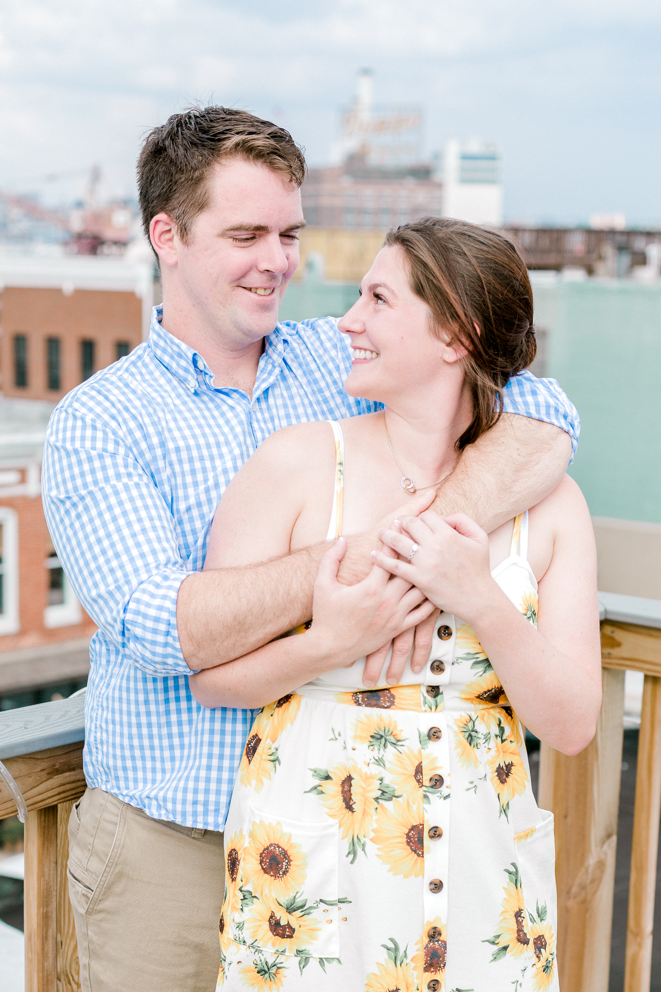 Baltimore Federal Hill Park Stormy Engagement Session Lytle Photo Co (39 of 92).jpg