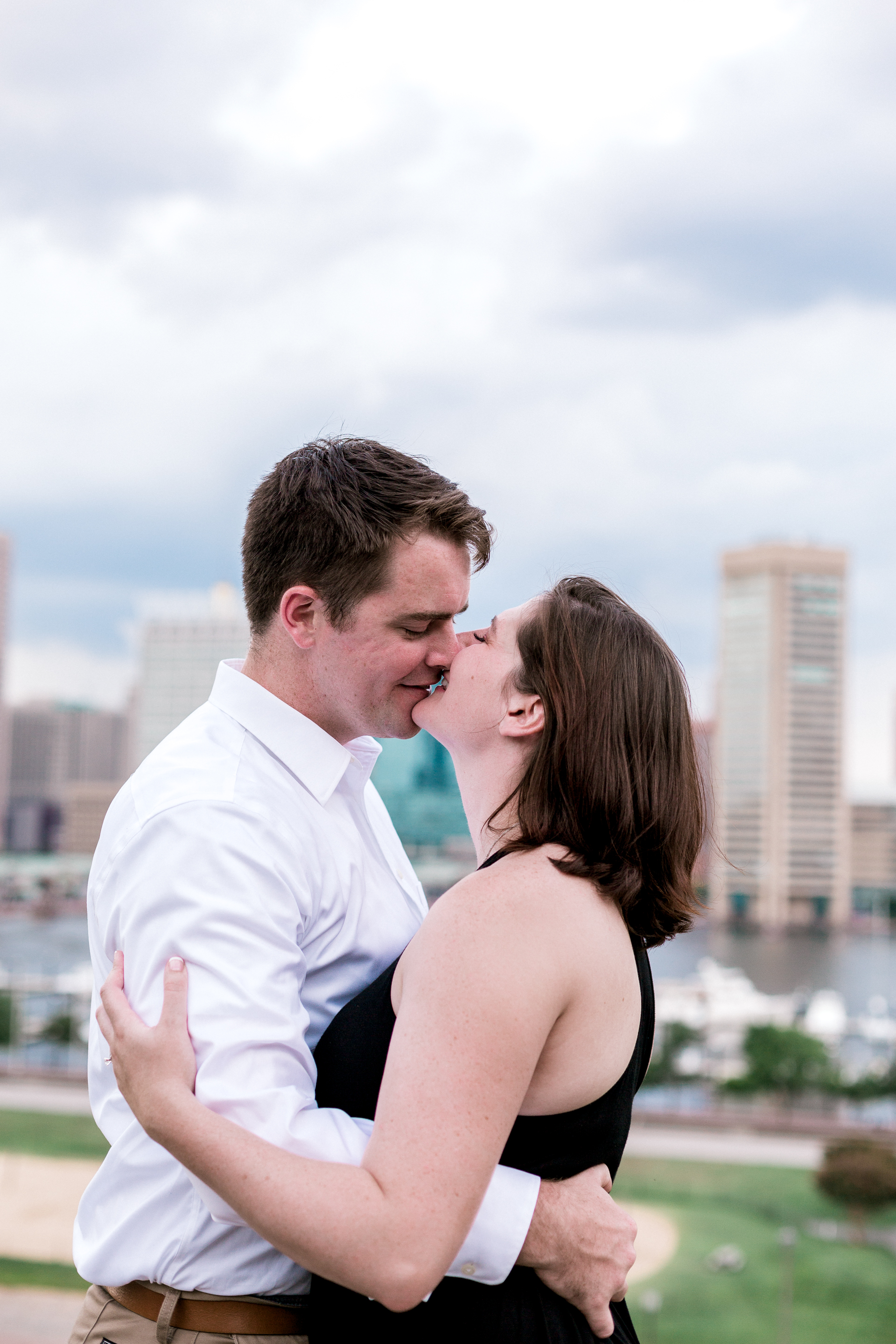 Baltimore Federal Hill Park Stormy Engagement Session Lytle Photo Co (90 of 92).jpg