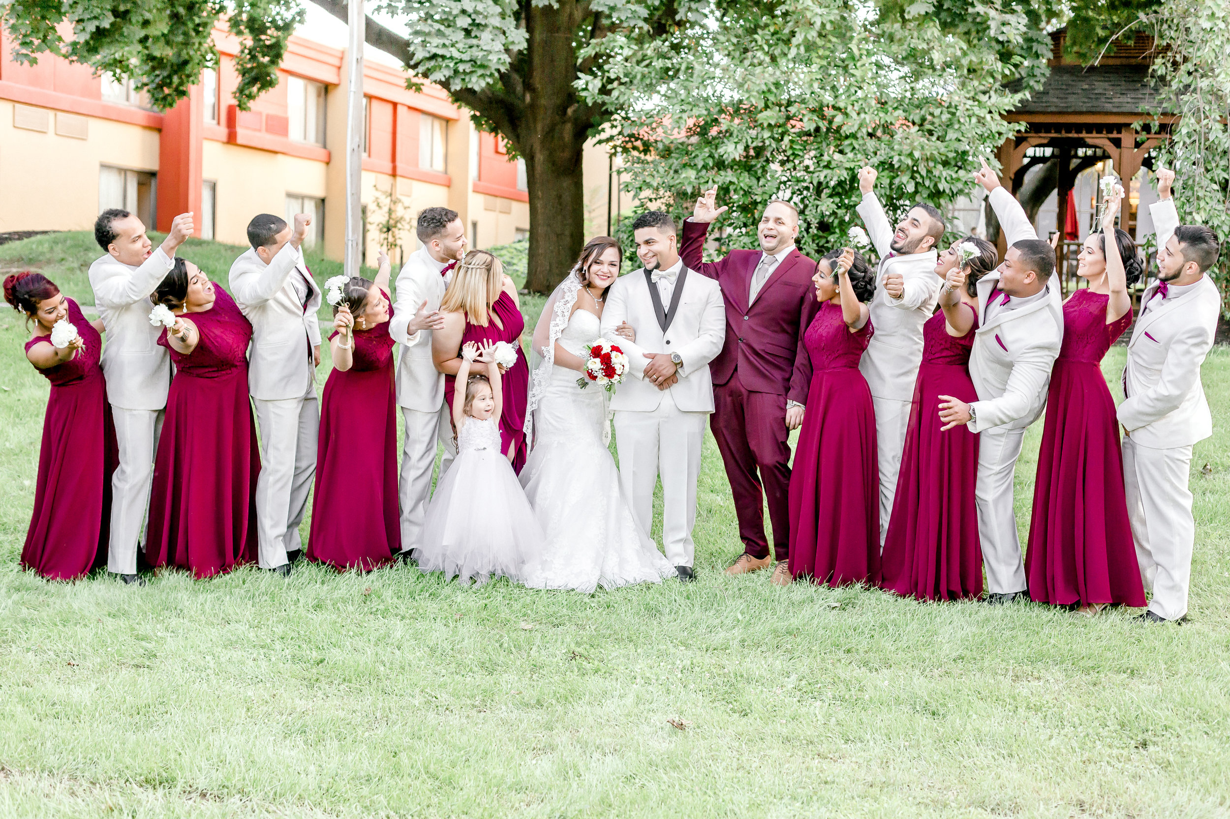 Crowne Plaza Hotel Reading Pennsylvania burgandy and gold  Wedding Lytle Photo Co (1 of 1)-3.jpg