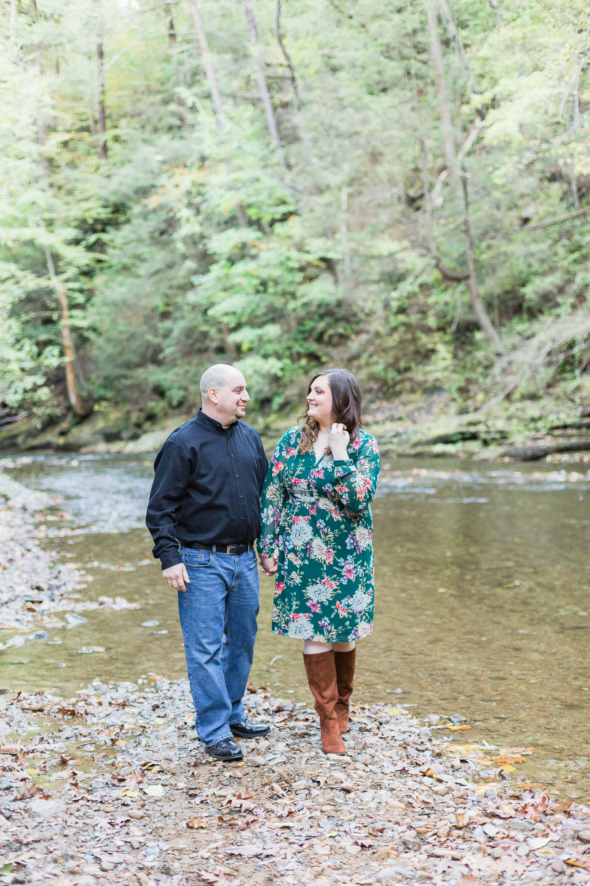 Jacobsburg State Park Nazareth Pennsylvania Woodsy Fall Engagement Session wedding and lifestyle photographer Lytle Photo Co (39 of 64).jpg