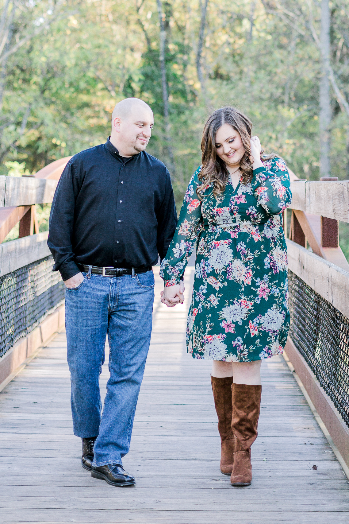Jacobsburg State Park Nazareth Pennsylvania Woodsy Fall Engagement Session wedding and lifestyle photographer Lytle Photo Co (34 of 64).jpg
