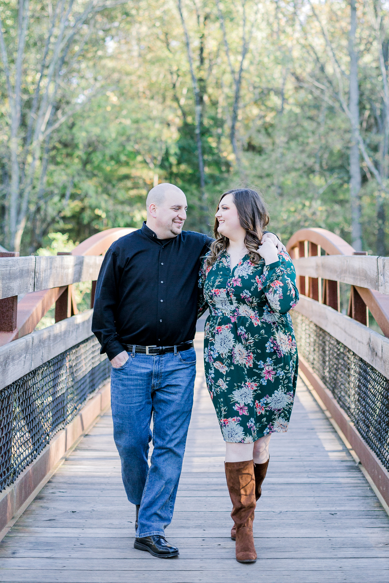 Jacobsburg State Park Nazareth Pennsylvania Woodsy Fall Engagement Session wedding and lifestyle photographer Lytle Photo Co (36 of 64).jpg