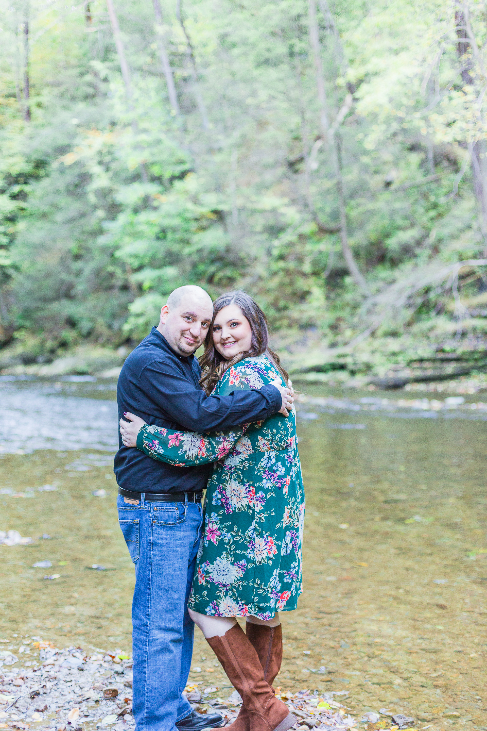 Jacobsburg State Park Nazareth Pennsylvania Woodsy Fall Engagement Session wedding and lifestyle photographer Lytle Photo Co (37 of 64).jpg