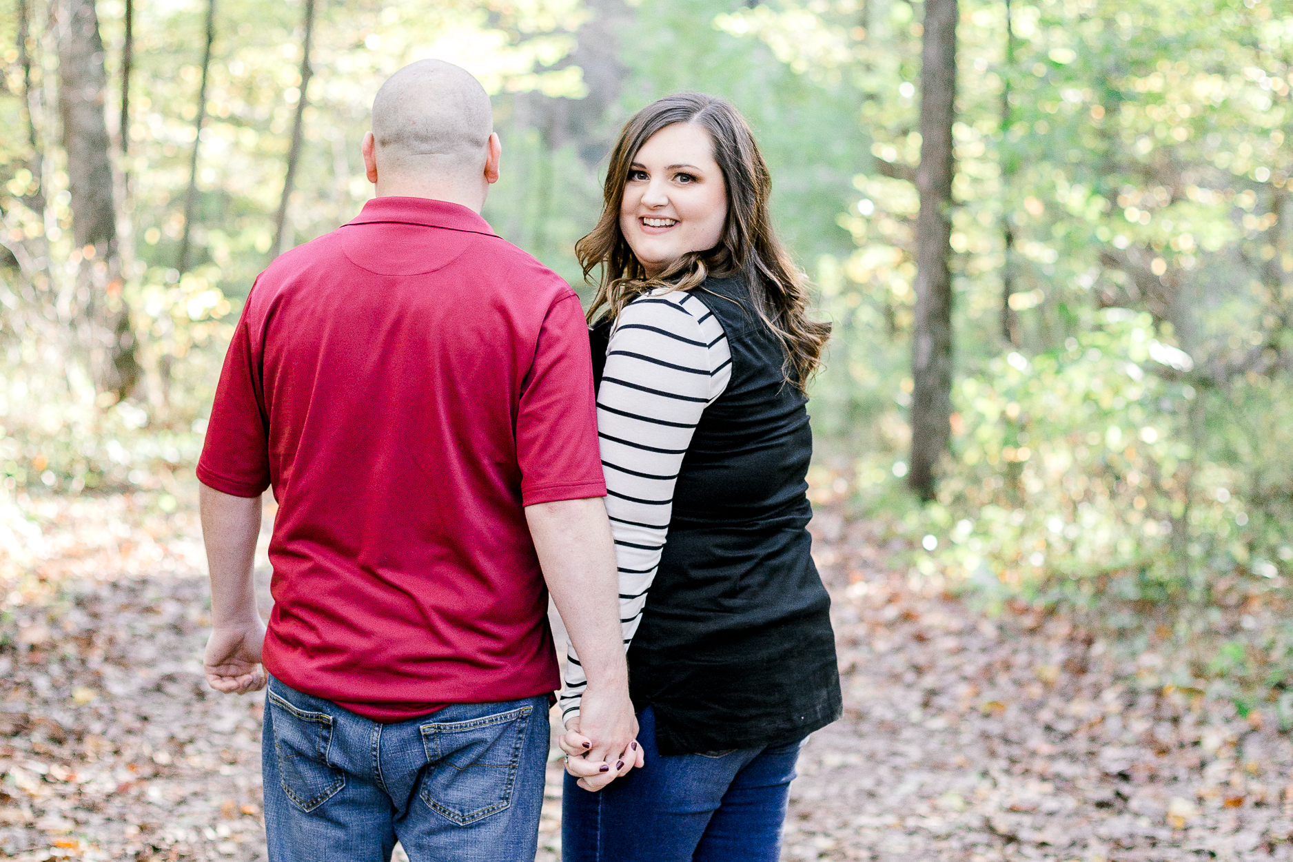 Jacobsburg State Park Nazareth Pennsylvania Woodsy Fall Engagement Session wedding and lifestyle photographer Lytle Photo Co (1 of 1).jpg
