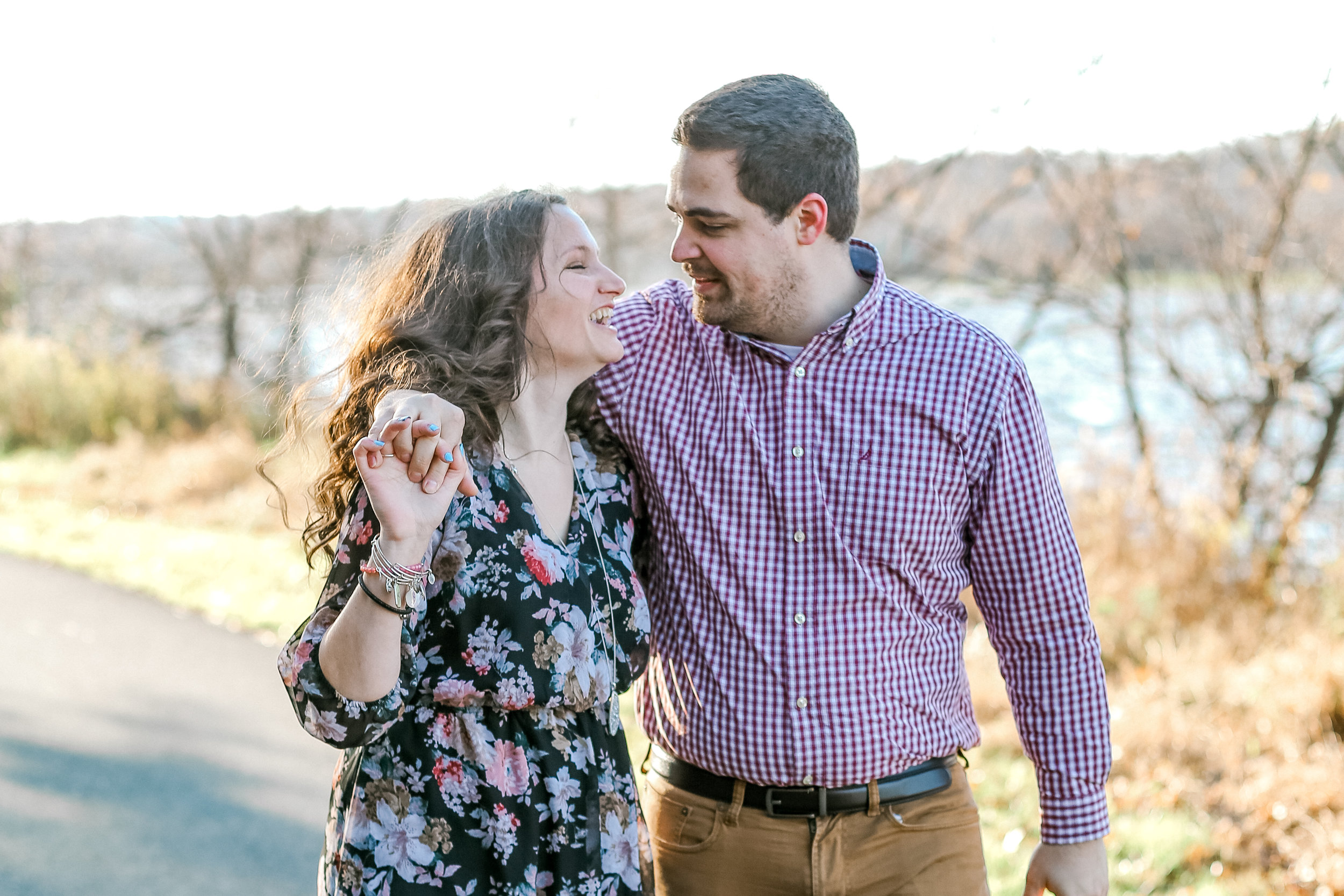 Bucks county Peace Valley Park Doylestown Lehigh Valley fall windy engagement session wedding and lifestyle photographer Lytle Photo Co (14 of 109).jpg