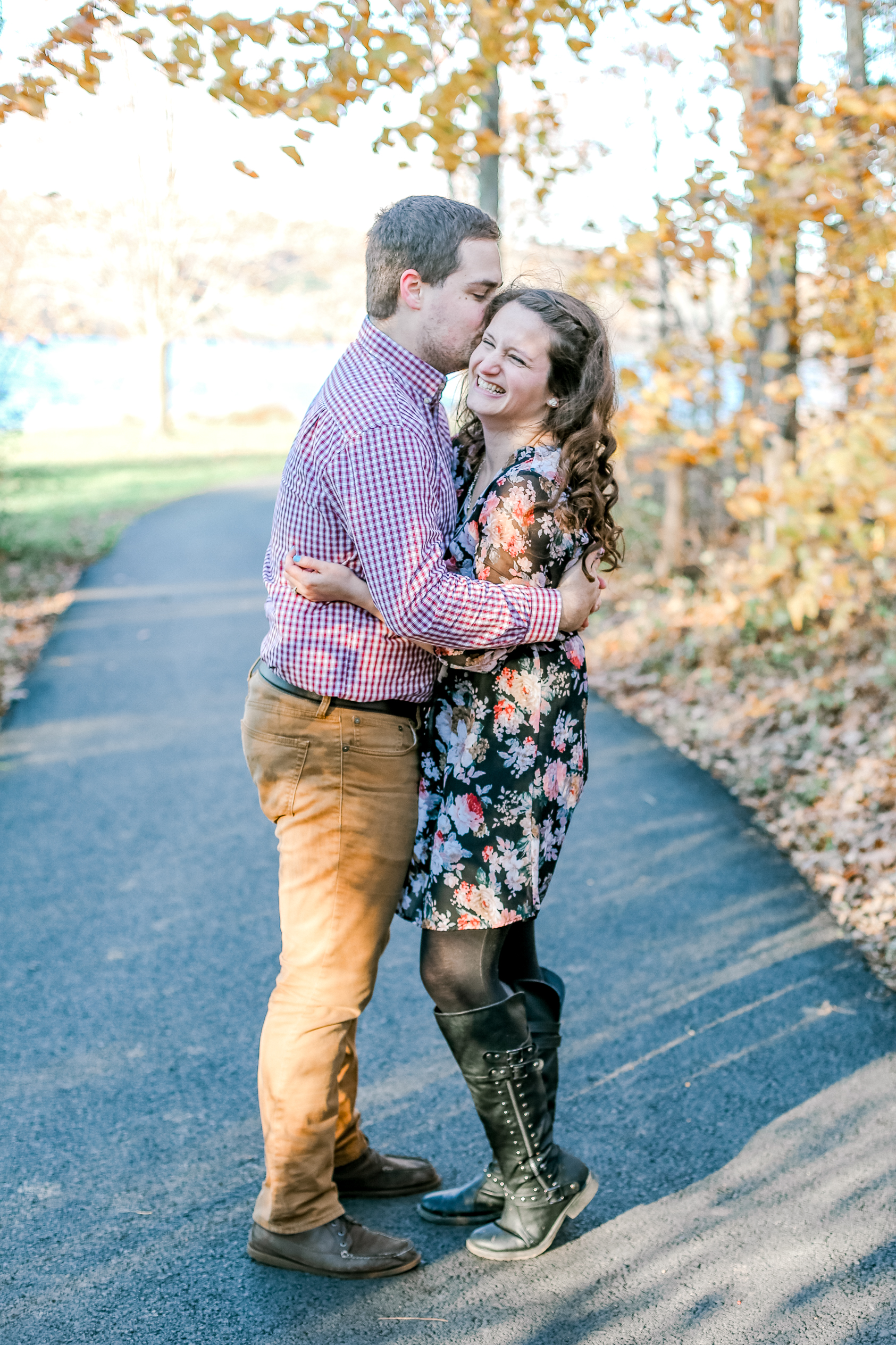 Bucks county Peace Valley Park Doylestown Lehigh Valley fall windy engagement session wedding and lifestyle photographer Lytle Photo Co (26 of 109).jpg