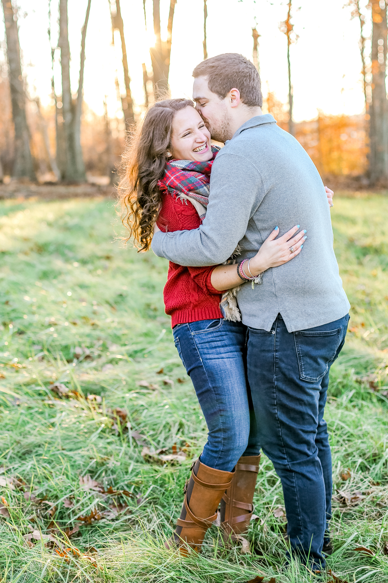 Bucks county Peace Valley Park Doylestown Lehigh Valley fall windy engagement session wedding and lifestyle photographer Lytle Photo Co (57 of 109).jpg